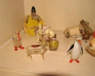 Annealed glass animals