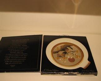 Art of Chokin decorative plate