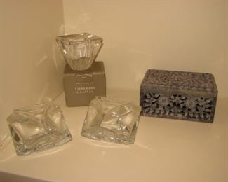 """Tipperary """"Infinity"""" crystal votive"""