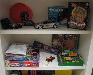 Games, toys