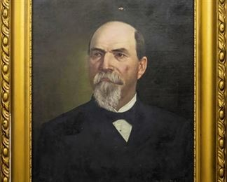 Important Nashville TN Civil War Portrait of Dr. Horace W. King, by Helene DeLaunay, 1886