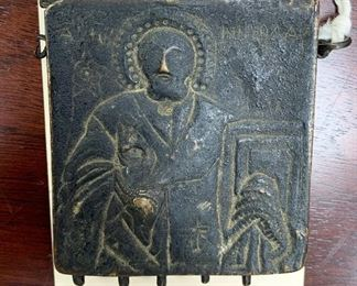 Byzantine Bronze Reliquary that would contain holy relic(s).