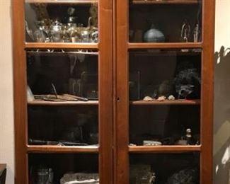 Historic Antique Devon Farms Nashville, TN Display Cabinet
