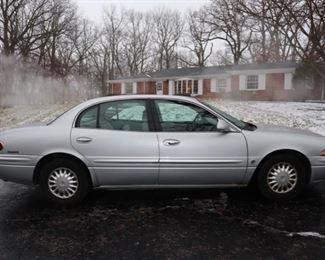 2000 Buick LeSabre 4 Door sedan with 140,440 miles