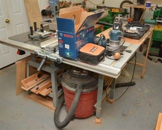 Bosch router and more