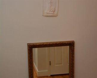 mirror, Greek woman wall art