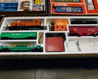 Lionel Yardmaster Train set