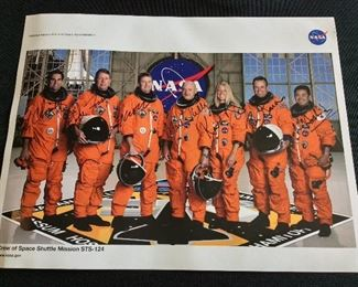 NASA Crew of Space Shuttle Mission STS-124.
