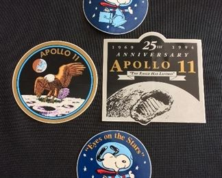 NASA Apollo 11 Decals.