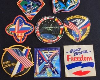 International Space Station Expedition Decals.