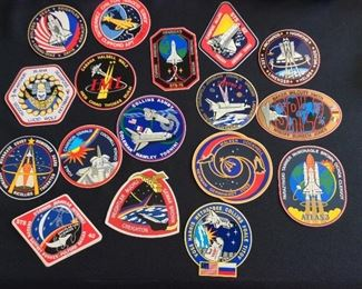 NASA Space Shuttle Mission Decals.