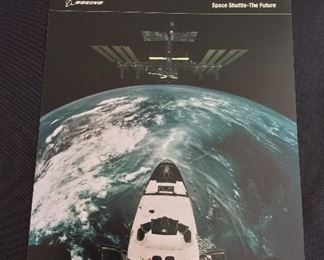 Boeing NASA Space Shuttle Cards.