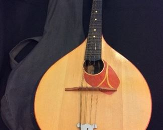 Russian8-Stringed Instrument purchased in Leningrad, Russia in 1979.