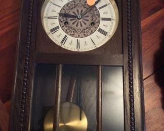 West German Clock.