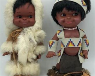 Vintage Regal Native American Dolls https://ctbids.com/#!/description/share/288909