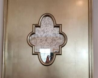 Gold wash Morrocan detail mirror(s) $189 each (2 avail)