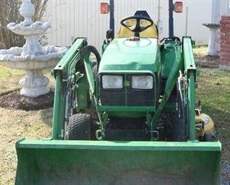 John Deere Model 2210 Tractor