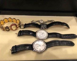 Beatles Fossil Watch Guess Gervais Penard Wristwatch