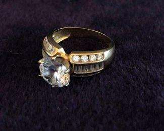 Semi Precious Stones Wrapped in Gold
