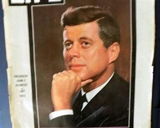 JFK Commemorative magazine