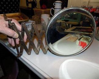 Vintage cosmetic mirror