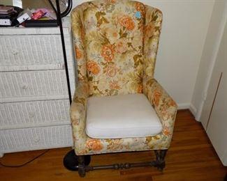Two nice chairs, need cushion upholstery