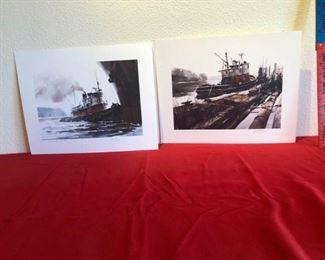 2 signed William Ryan prints