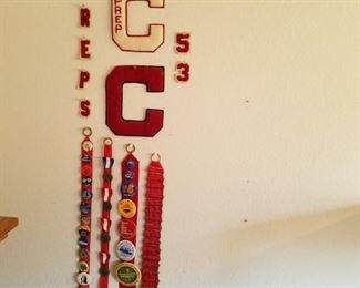 Pins and Class Letters