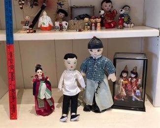 Asian inspired dolls