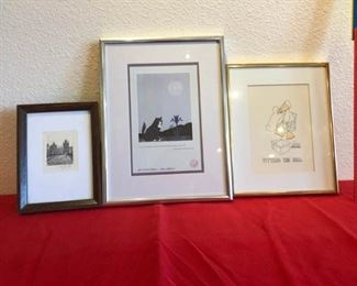 Small signed art