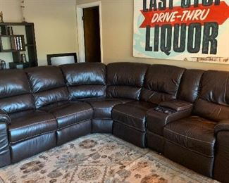 Bassett express emotion sectional