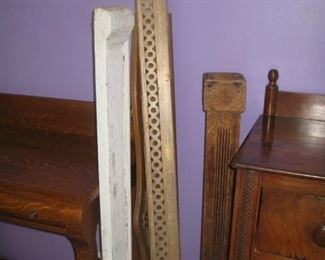lots of architectural or furniture detail pieces
