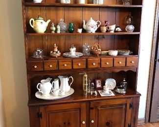 Antique 1800's hutch.