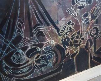 One of many original art pieces