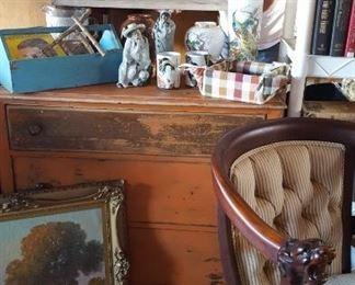 Antique three drawer chest