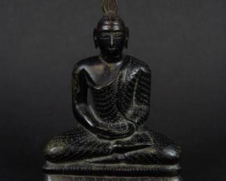 A Bronze Sri Lankan Figure of Buddha