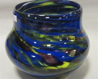 signed art glass