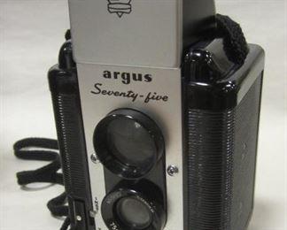 Argus seventy-five camera and bag