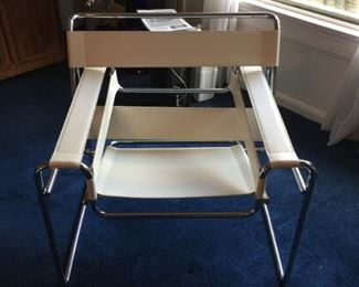 One Wassily style chair