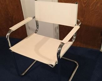 pair Cantilever style chairs