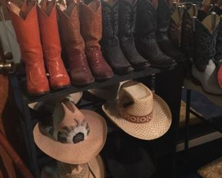 Boots & hats