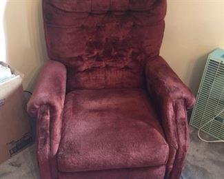 Vibrator chair
