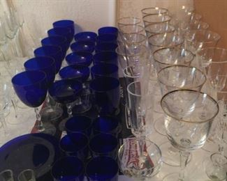 Cobalt Fostoria Glass
