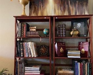 Pair of these bookcases.