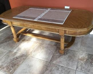 Coffee Table w/ Inset Tiling https://ctbids.com/#!/description/share/289222