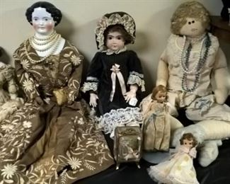 More of the unique collectible dolls