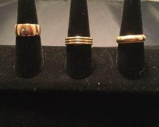 Three 14 K Bands https://ctbids.com/#!/description/share/290578