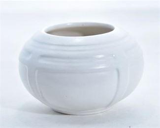 5. Roseville Pottery Ivory Bowl