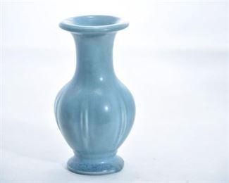 14. Rookwood Pottery Matte Blue Vase