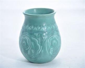 16. Rookwood Pottery Matte Floral Vase